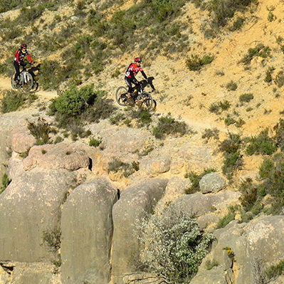 Quatre itinéraires de cyclotourisme pour profiter des parcs naturels catalans